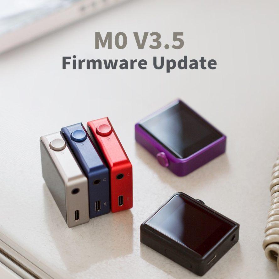 Shanling M0 Firmware V3.5 update