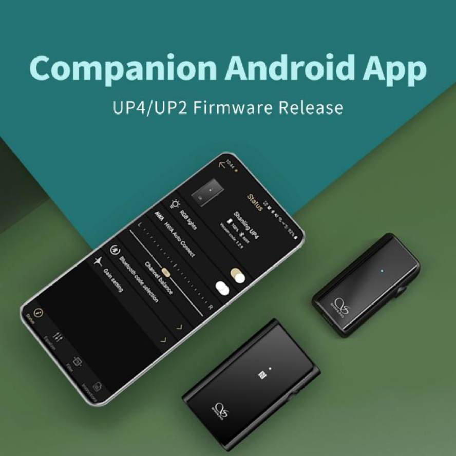New Companion app for UP2 & UP4