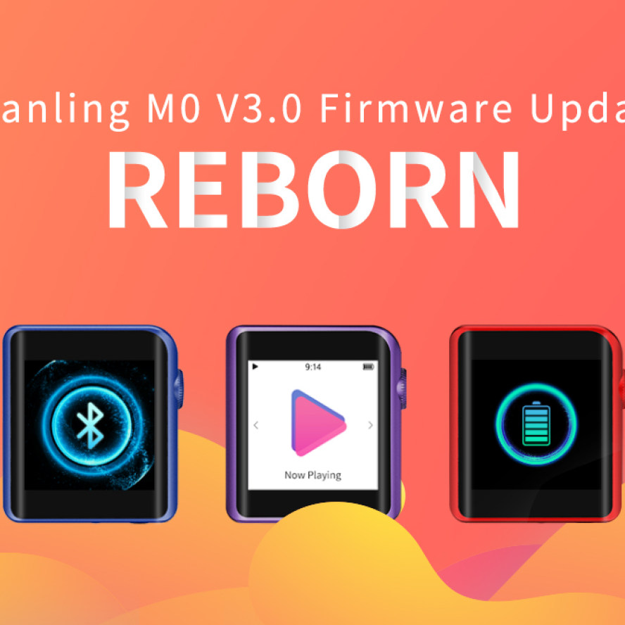 Shanling M0 Firmware V3.0 update