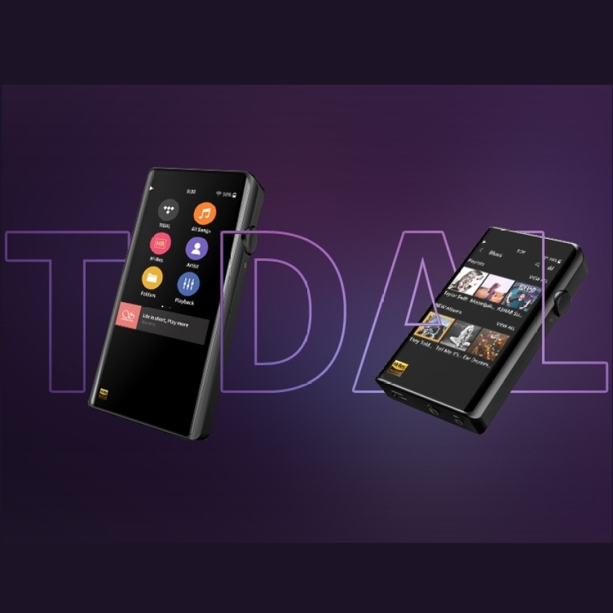 Shanling M5s and M2X gets TIDAL